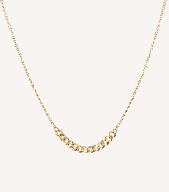 Vrai & Oro Interlink Necklace