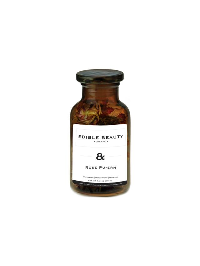 Edible Beauty Rose and Pu-erh Tea