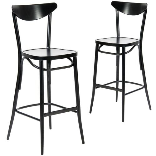 SLH House Meli Outdoor Bar Chairs (Set of 2)