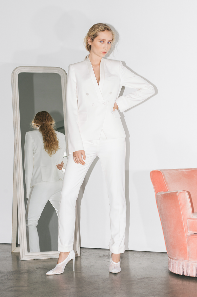 Stella McCartney Bridal Pantsuit