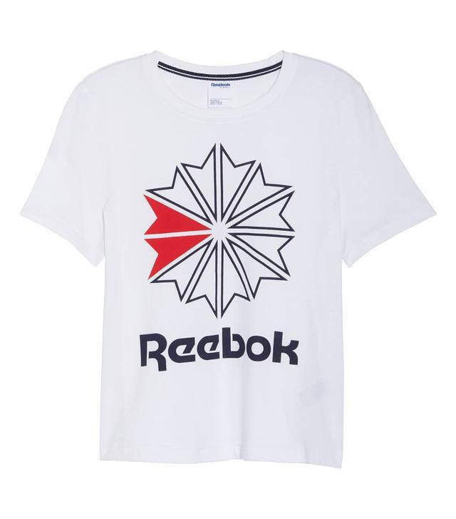 Reebok Starcrest Logo Cotton Tee