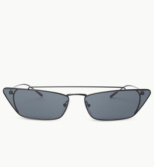 Prada Ultravox 67mm Oversize Cat Eye Sunglasses