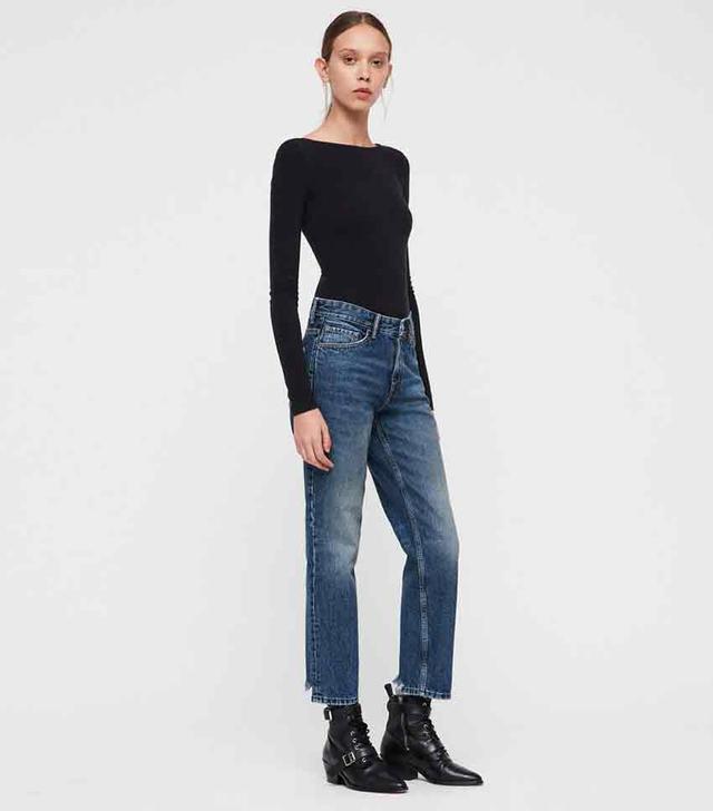 AllSaints Ava Straight Leg Jeans