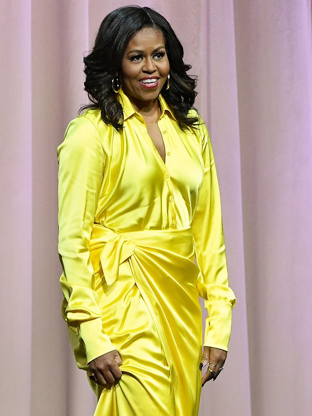 Michelle Obama Glittery Boots