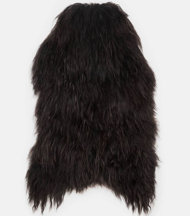 The Line Black Icelandic Sheepskin