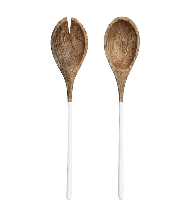 H&M Wooden Salad Servers