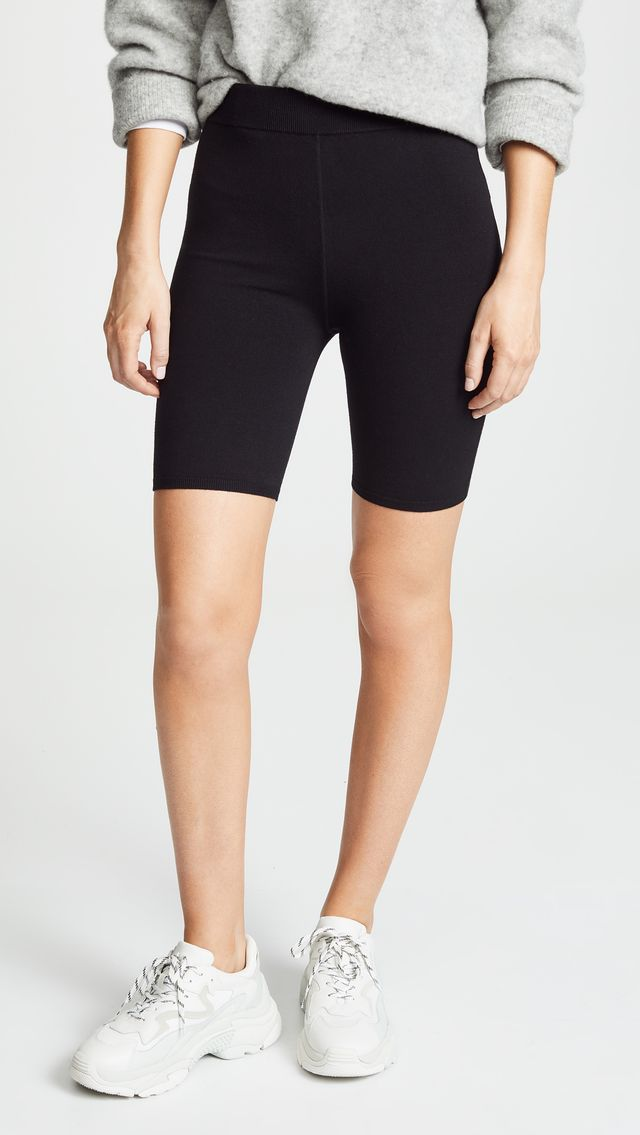 T by Alexander Wang Bodycon Basic Biker Shorts