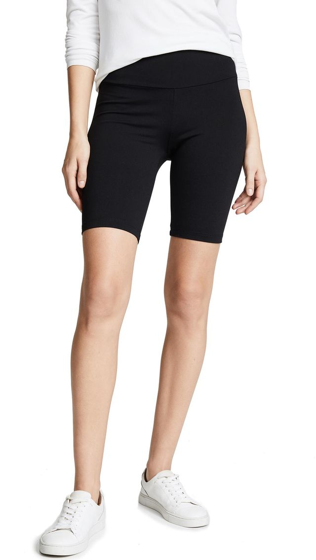 Susana Monaco Mid Length Bike Shorts