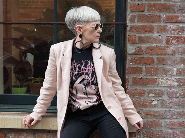skinny-jean outfits for women over 50