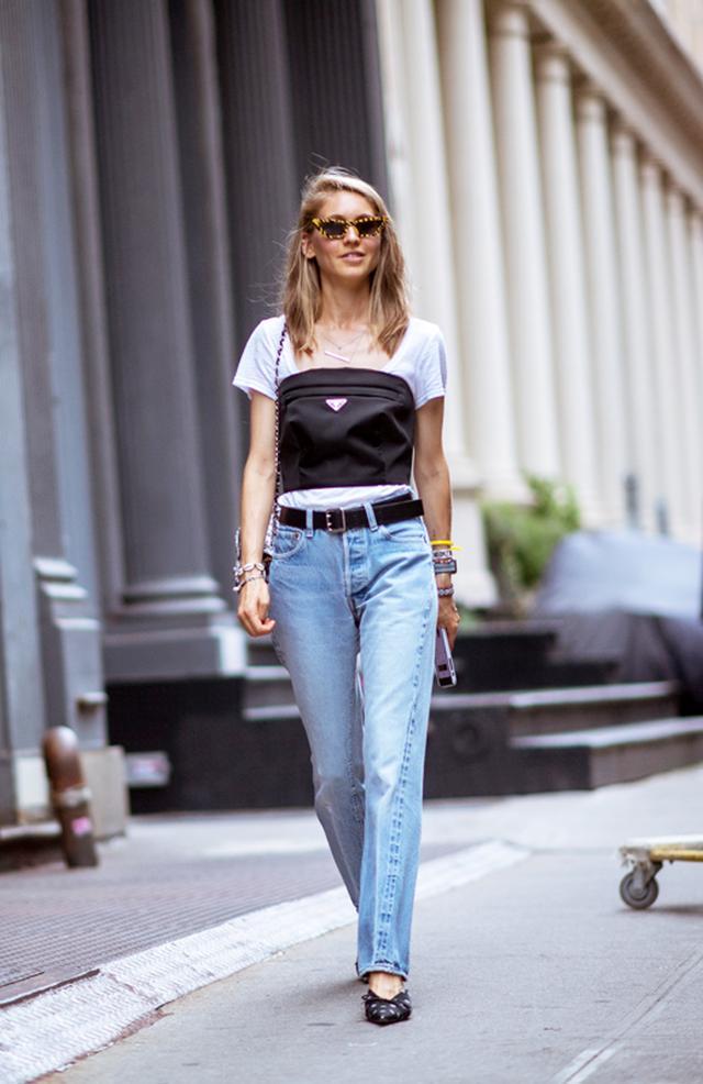 Jessica Minkoff street style