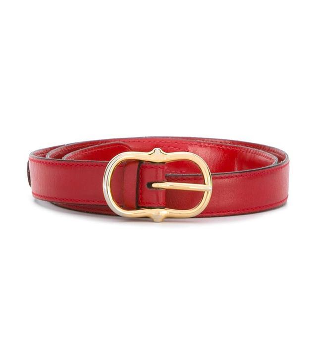 Celine Vintage Equestrian-Style Belt