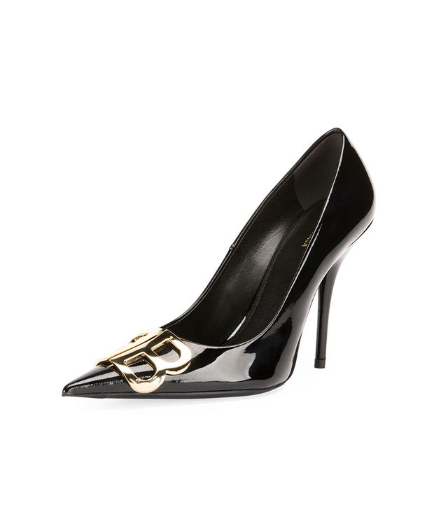 Balenciaga BB Knife Patent Pumps