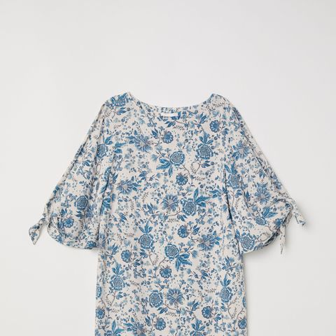 Tie-Sleeved Dress