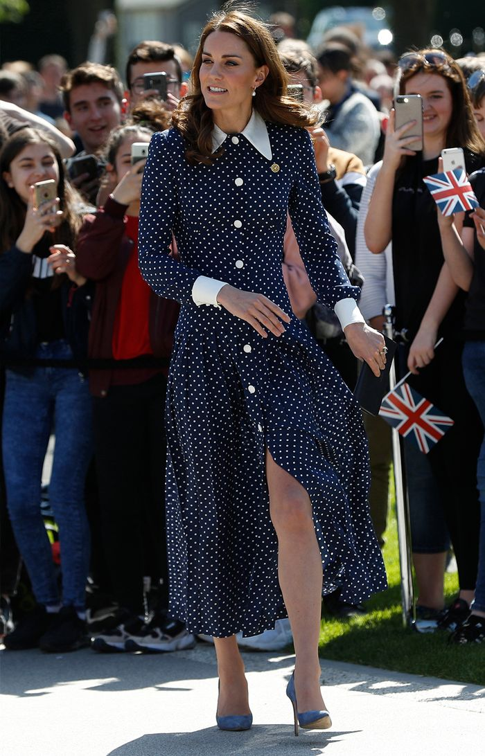 ea8d0af109c2 Kate Middleton Looks Incredible in an Alessandra Rich Dress | Who ...