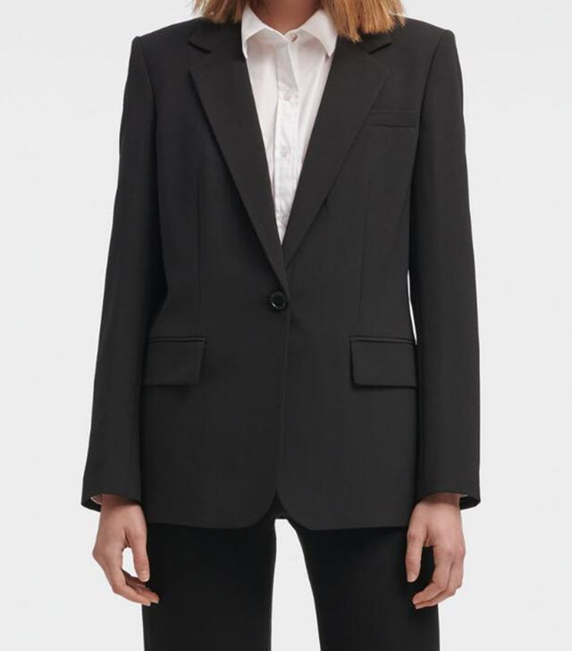 DKNY Single-Breasted Blazer