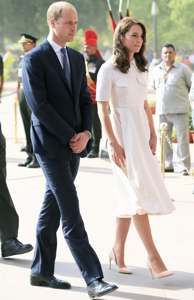 <p><strong>On Kate Middleton:</strong> Emilia Wickstead dress; Rupert Sanderson shoes</p>