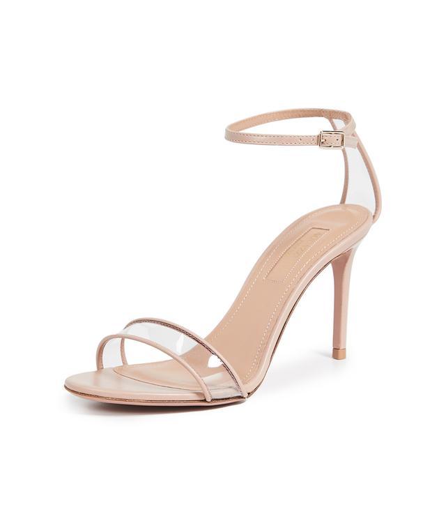 Aquazzura Minimalist 85 Sandals