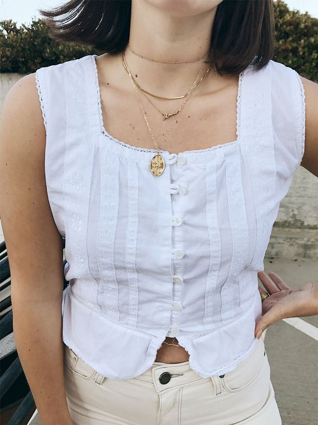 classic gold necklaces