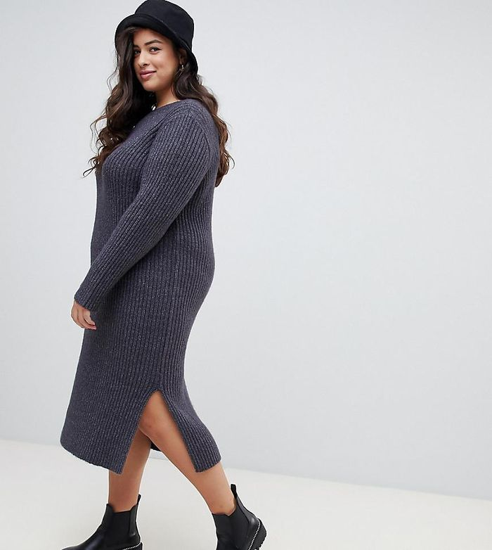The 13 Coziest Sweater Dress Outfits For Winter Who What Wear 692267b3b