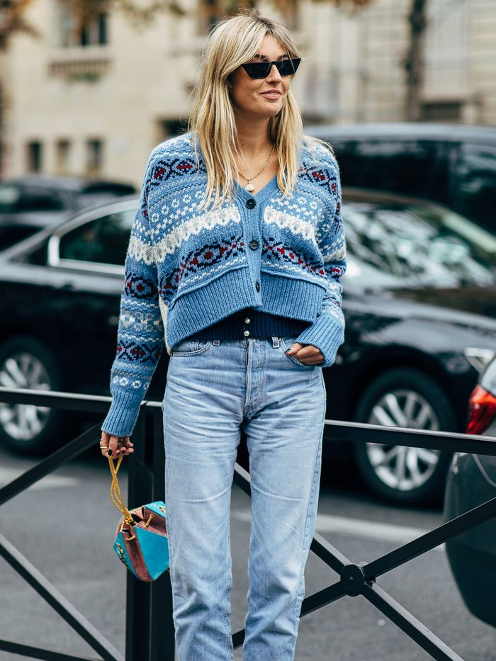 0d95f67b2c63 11 Cool Mom Jean Outfits To Try This Winter Who What Wear