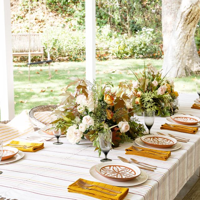 This Is How a Designer Styles an Unforgettable Fall Table Setting