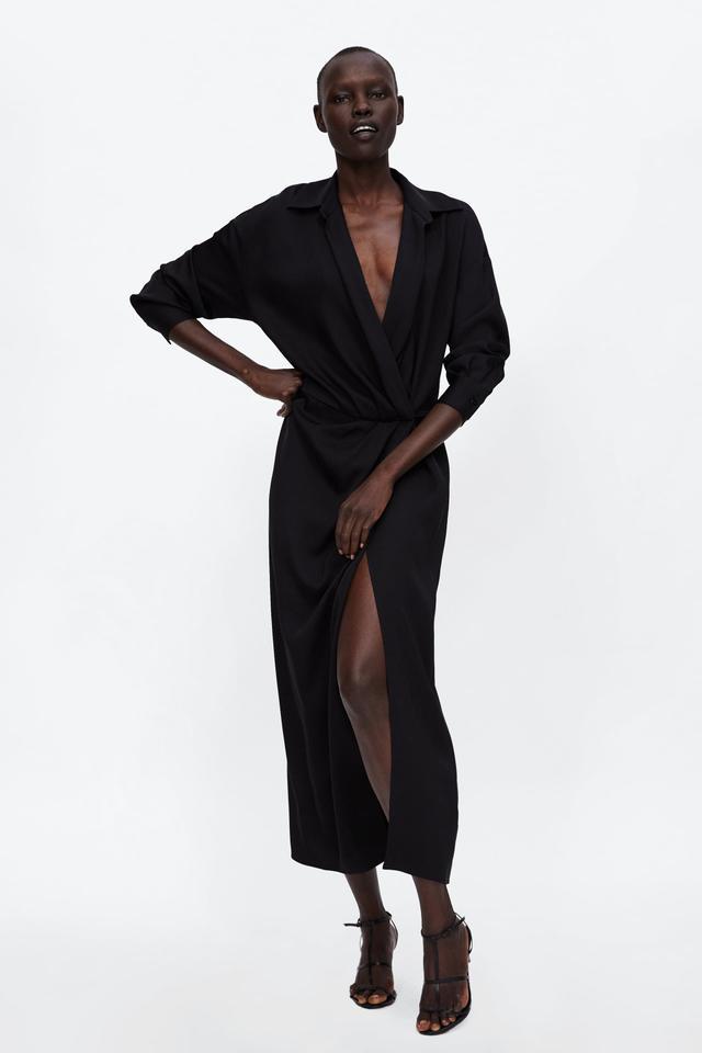 Zara Crossed Dress