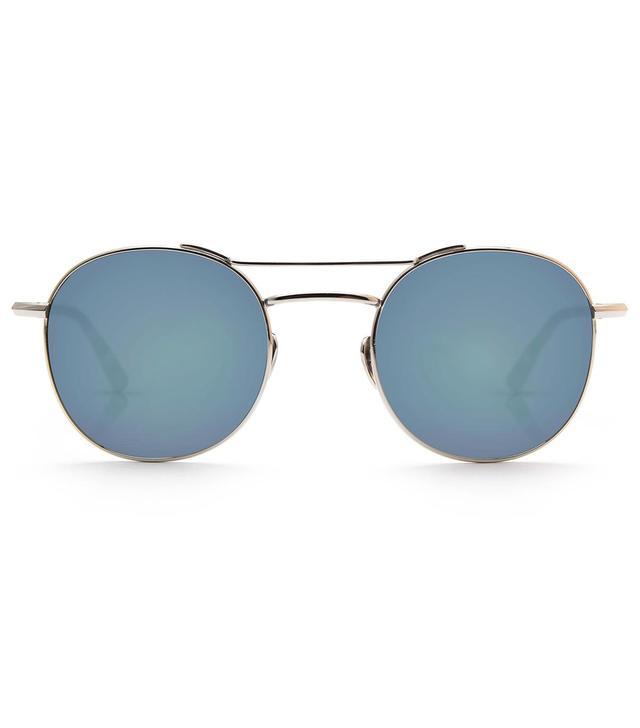 Krewe Earhart Titanium Sunglasses