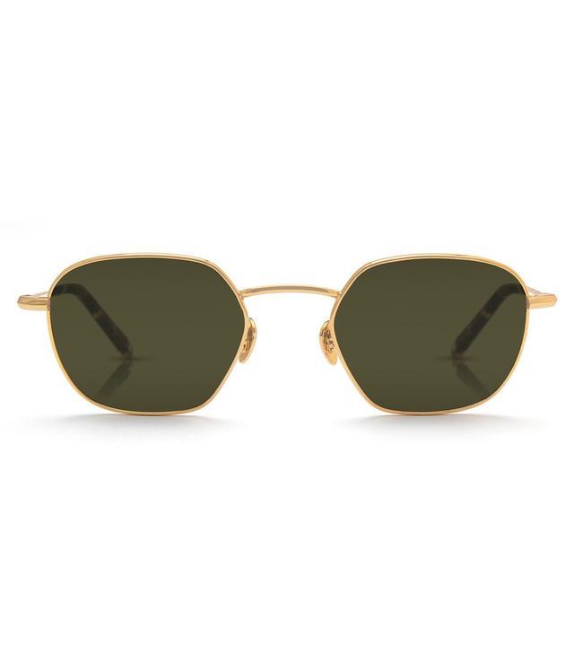 Krewe Ward 24k Titanium and Zulu Sunglasses