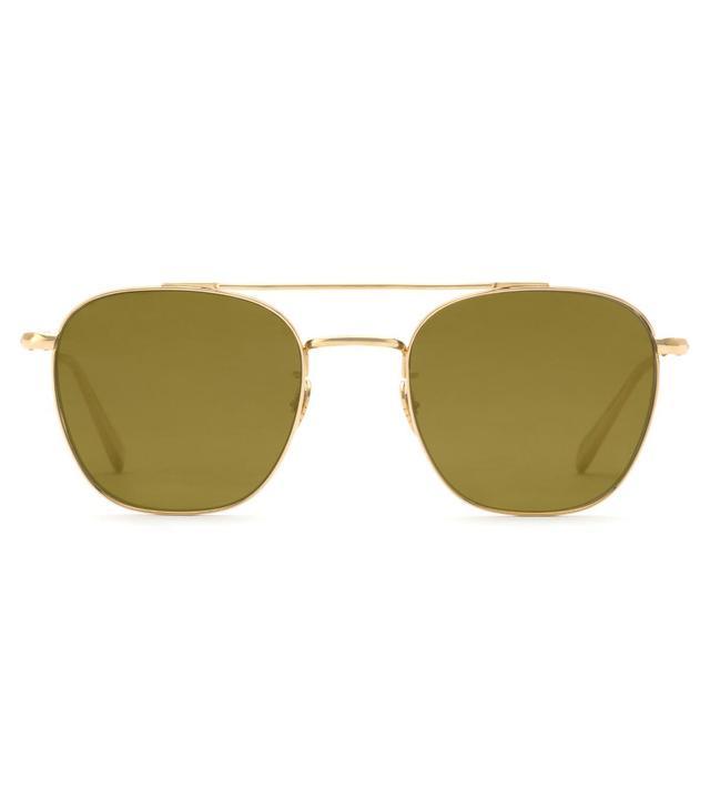 Krewe Earhart 24k Titanium Polarized Sunglasses