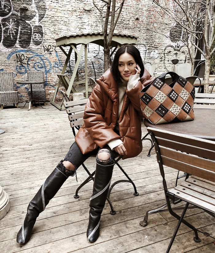 These Black Knee High Boots Will Elevate Any Winter Outfit Who