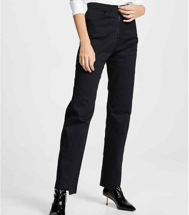 The Range Angled Seam Structured Twill Pants