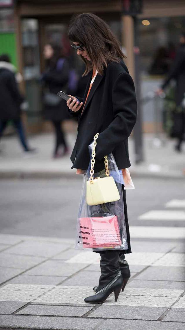 Transparent Bag Trend Spring 2019 Street Style