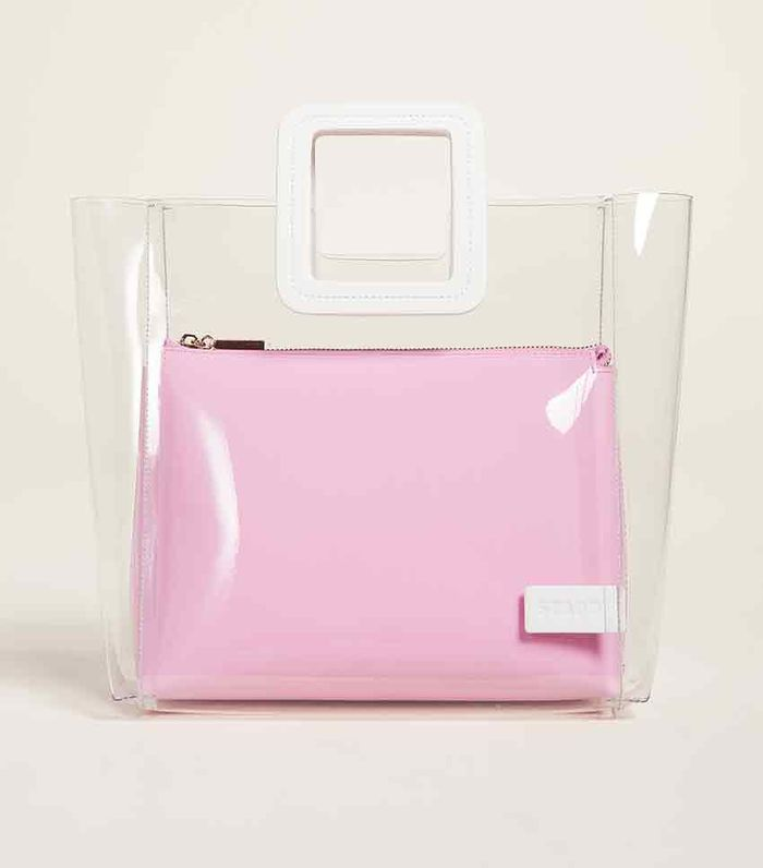 Popular Transparent Handbag Trend for Spring 2019   Who What Wear f6c96f715b