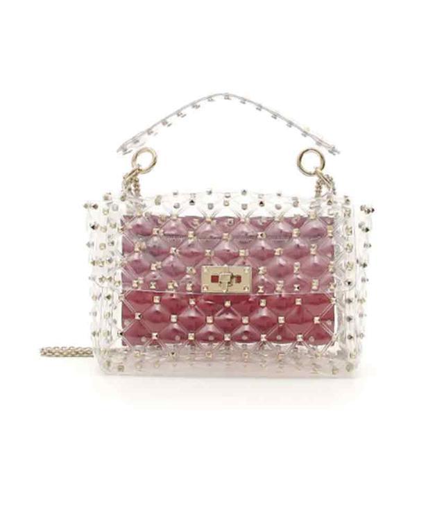 Valentino Plexi Medium Shoulder Bag