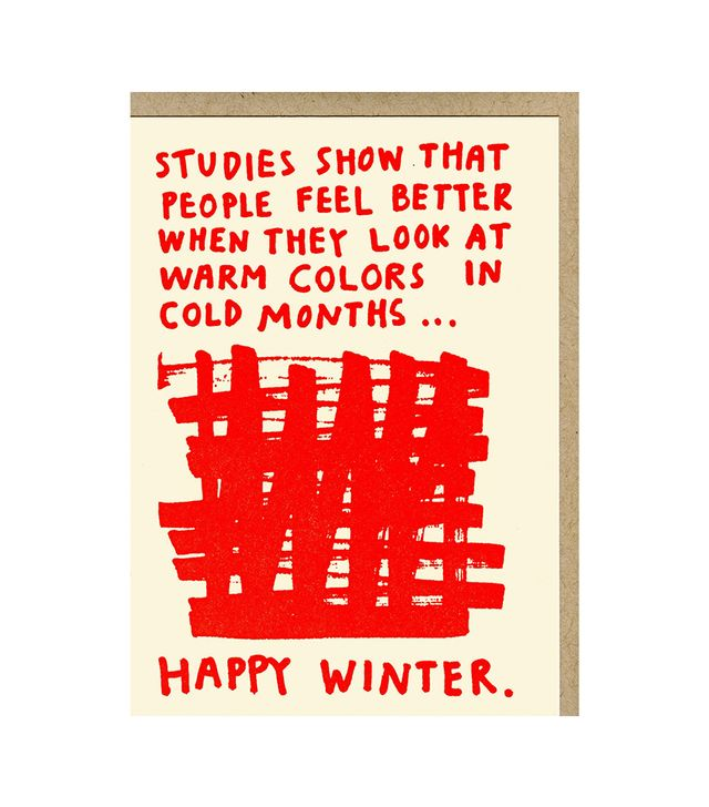 People I've Loved Happy Winter Card