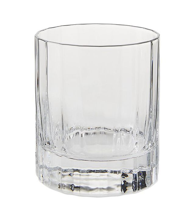CB2 Suave Double Old-Fashioned Glass