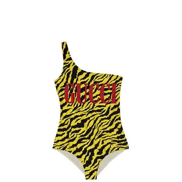 Gucci Sparkling Swimsuit With Zebra Print