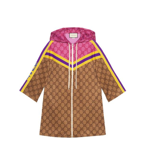 Gucci GG Technical Jersey Dress With Zip