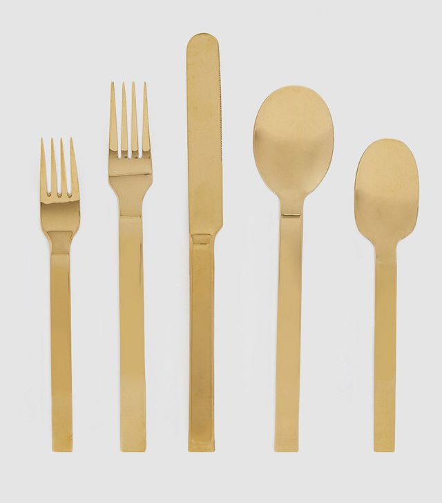 Hawkins New York 5 Piece Place Setting in Gold