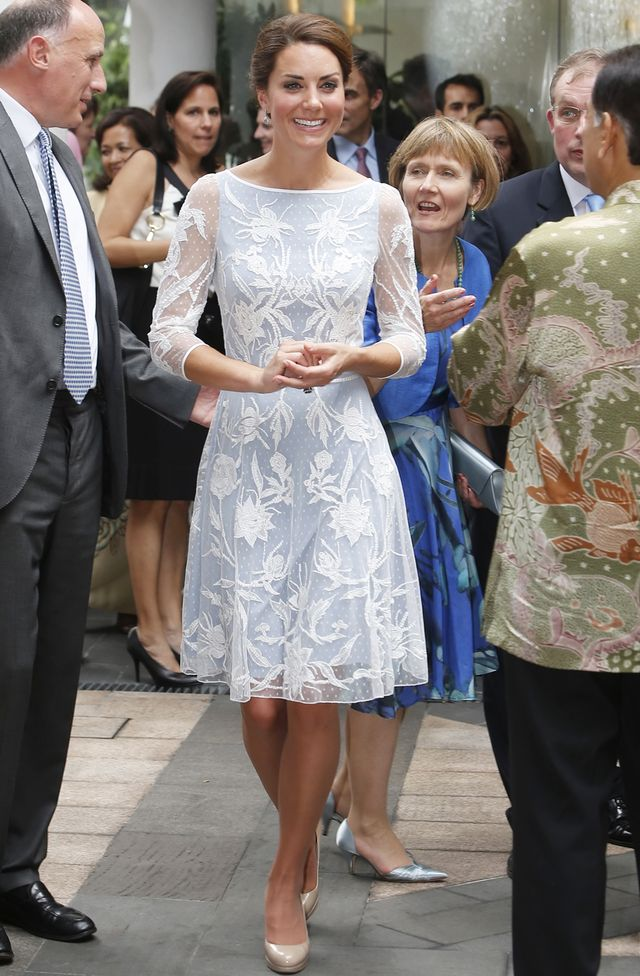 Kate Middleton Sheer Sleeves