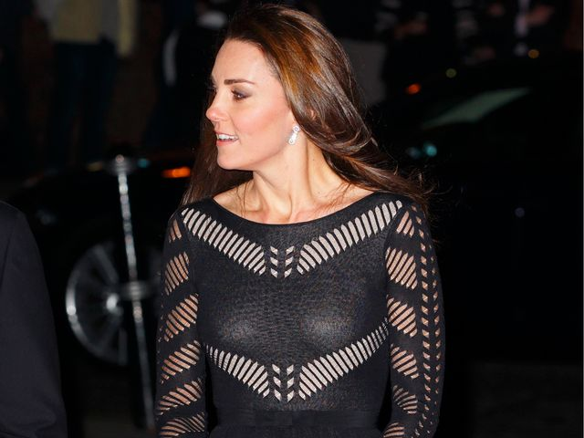 How Kate Middleton Wears the Sheer Trend