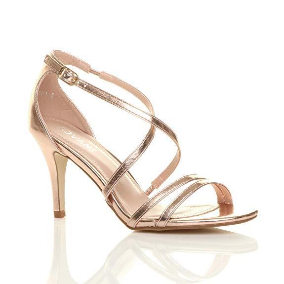 Ajvani Women's High Heel Sandals Shoes