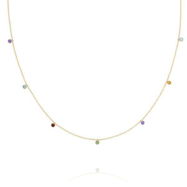 Tacori Lucky 7 Hanging Gems Necklace