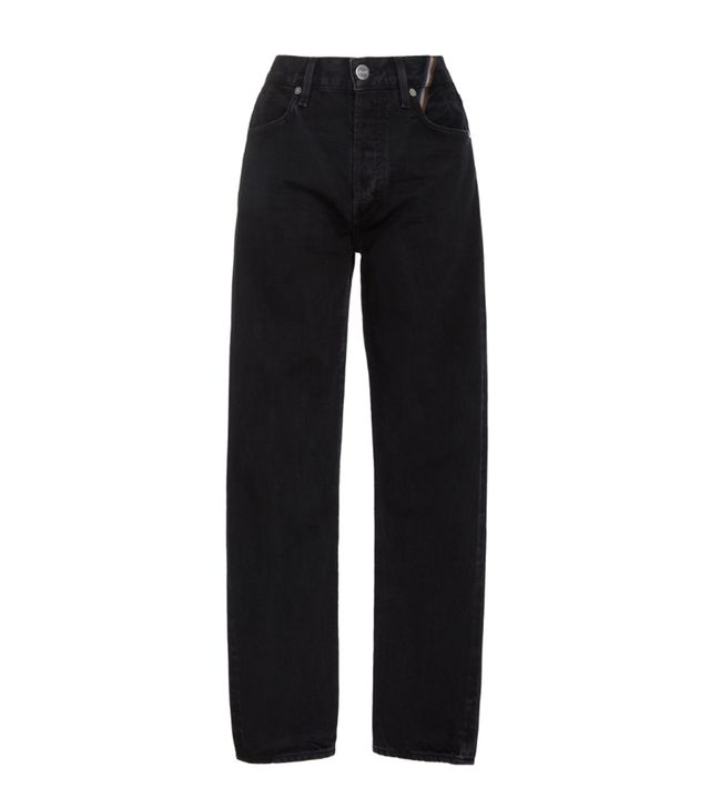Jean Atelier Ryan Cropped High-Rise Slim-Leg Jeans