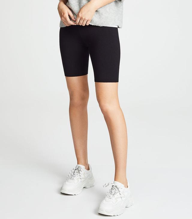 T by Alexander Wang Biker Shorts