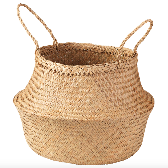 IKEA Flådis Basket in Seagrass