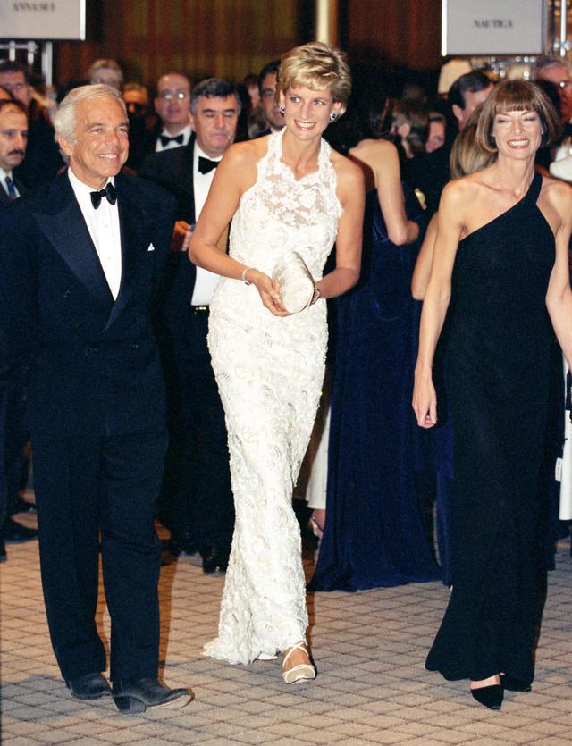 Princess Diana and Anna Wintour Dresses