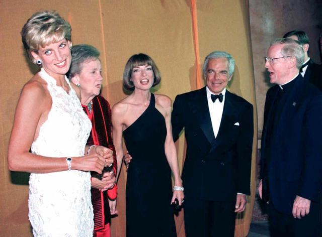 Princess Diana and Anna Wintour Outfits