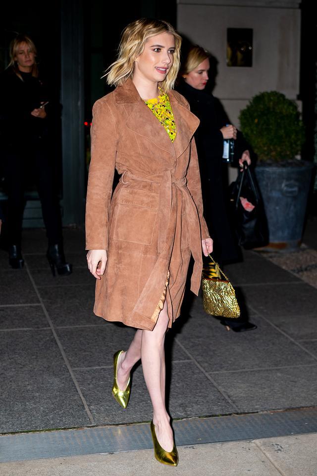 Emma Roberts evening bag