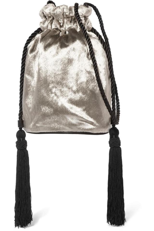 Hunting Season Tula Velvet Shoulder Bag